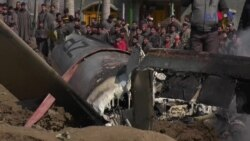بڈگام میں گرنے والے بھارتی طیارے کی ویڈیو