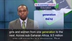Phát âm chuẩn - Anh ngữ đặc biệt: Girls and Education (VOA)