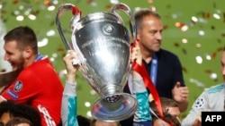 Kofin gasar UEFA a lokacin da Bayern Munich ta lashe kofin a bara