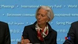 2014-04-13 美國之音視頻新聞: IMF指全球經濟復甦依然存在問題