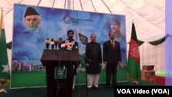 در مراسم روز پاکستان بر علاوۀ مقامات افغان، سیاستمداران و رهبران پیشین جهادی نیز شرکت کرده بودند.
