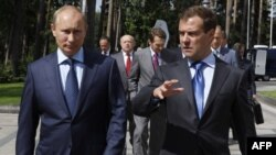 Rusi: Presidenti Medvedev propozon kryeministrin Putin si kandidat të ardhshëm presidencial