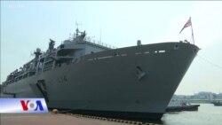 Tàu chiến Anh 'khiêu khích' Trung Quốc trước khi tới Việt Nam