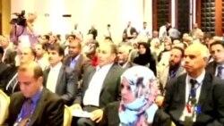2014-08-03 美國之音視頻新聞: 利比亞新國會在暴力中舉行首次會議