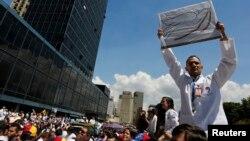 Los médicos venezolanos protestarán por la falta de medicamentos.