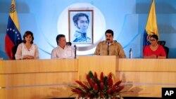 El jefe del estado venezolano expresó su satisfacción por el encuentro bilateral realizado en la ciudad de Puerto Ordaz.