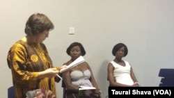 Gina Haney, Sarah Mpofu naNhlalo Dube