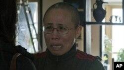 正在服刑的諾貝爾和平獎得主劉曉波的妻子劉霞 (資料照片)