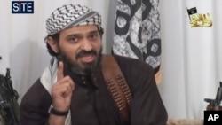 Viên chỉ huy số hai của mạng lưới al-Qaida tại Yemen Said al-Shehri