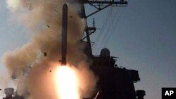Старт крылатой ракеты «Томагавк». Архивное фото.
