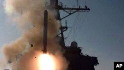 Tomahawk raketləri adətən hərbi gəmilərdən atılır.