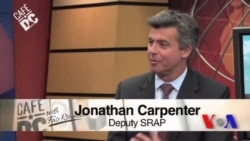 Cafe DC: Jonathan Carpenter, Deputy Special Representative for Afghanistan and Pakistan, US State Department
