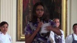 Michelle Obama Touts Pollinator Gardens
