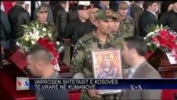 Varrosen shtetasit e Kosovës të vrarë në Kumanovë