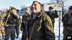 Lider proruskih pobunjenika Aleksander Zaharčenko