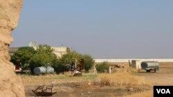 Gundê Kirbinan ser sînorê Kobanê