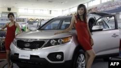 Số xe hơi bán ra ở Việt Nam trong tháng Giêng gia tăng