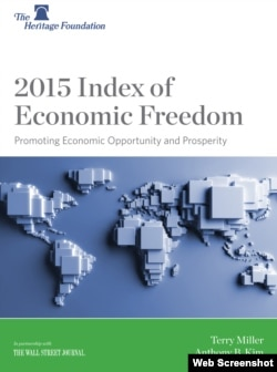 2015 Index of Economic Freedom