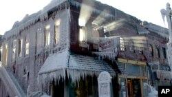 El centro y el este de Estados Unidos se encuentra mucho más frío que gran parte de la Antártida.