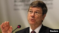 Jeffrey Sachs, Director of the Earth Institute, May 3, 2012.