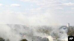Des bombardements du côté de l'aéroport de Donetsk en Ukraine (AP)