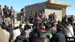 اعتصاب کارگران معدن کوشک بافق