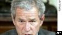 پرزيدنت بوش به مردم ايران می گويد که دولت آنان موجب محروميتشان می شود