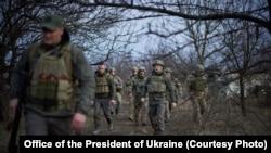 Робоча поїздка президента України на Донбас, 8 квітня 2021 року, Офіс Президента України