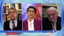 مناظره خوانساری و صدرزاده درباره تحریم های جدید آمریکا