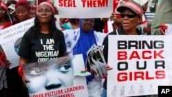 Protesti u Lagosu u Nigeriji na kojima se traži oslobađanje otetih učenica