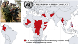 Countries with Children in Armed Conflict