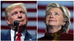 Trump ႏွင့္ Clinton မာရသြန္ မဲဆြယ္လႈပ္ရွား