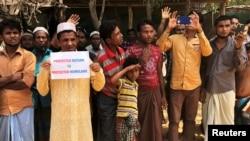 بیش از ۷۰۰ هزار مسلمان روهینگیایی به دلیل ادامۀ خشونت از سوی نظامیان میانمار به بنگله دیش سرازیر شده اند که در میان آنان صد ها هزار کودک نیز شامل است