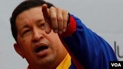 """Chávez dio el visto bueno a la suspensión de Bericeño y dijo """"creo que el gobernador Briceño llegó a donde tenía que llegar""""."""