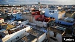 Vue sur la ville marocaine de Rabat, le 25 septembre 2014.