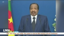 Paul Biya lance le dialogue national au Cameroun