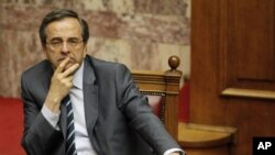 안토니스 사마라스 그리스 총리.