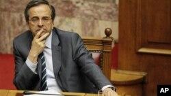 Премьер-министр Греции Антонис Самарас (архивное фото)