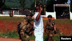 Город Банги. Центральноафриканская Республика. 23 декабря 2013 г.