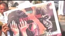 2013-04-21 美國之音視頻新聞: 新德里舉行抗議要求嚴懲強姦犯