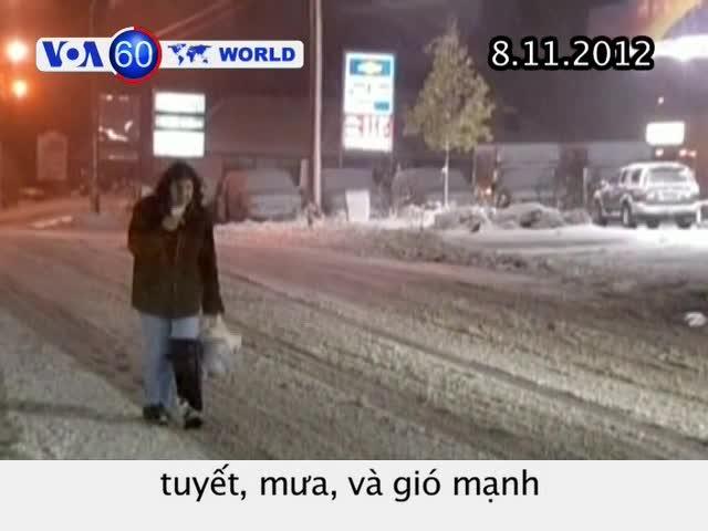 VOA60 Thế Giới 08/11/2012