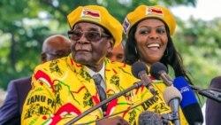 'UGrace Mugabe Wenza Ukuthi Umkakhe uRobert Mugabe Akhitshwe Ngenkani Esikhundleni'