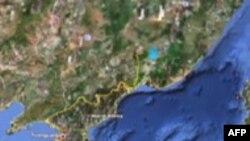 Северокорейские реалии – на онлайновой карте страны