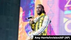 Cantor nigeriano Burna Boy no Coachella 2019
