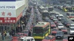 چین میں ٹریفک جام کا سنگین مسئلہ