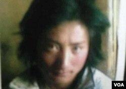 Ông Kunchok Kyab đã tự thiêu, để lại vợ và con nhỏ 10 tháng tuổi.