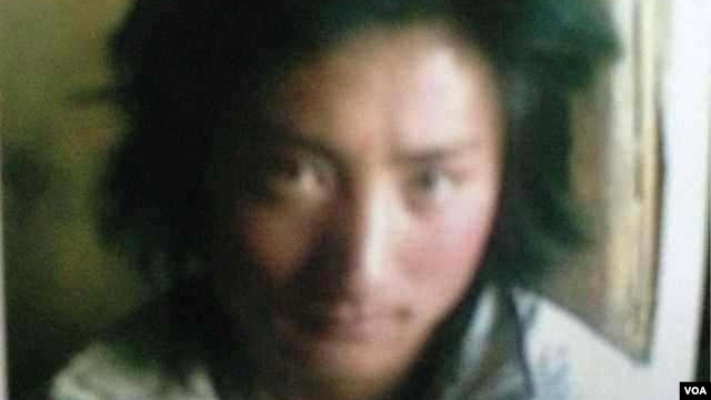 Kunchok Kyab, 23, became the 99th person to self-immolate in Tibet since protests against Chinese rule began in 2009. (VOA Tibetan Service)