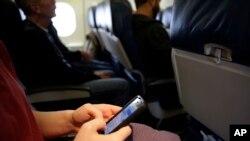 Telepon di pesawat