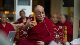 Dalai Lama South India