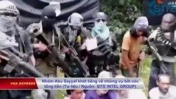Philippines giải cứu thuyền viên Việt từ tay phiến quân